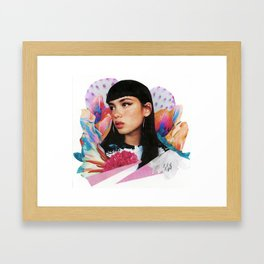 Bloom 2 Framed Art Print