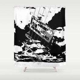 GUITAR RIP Shower Curtain