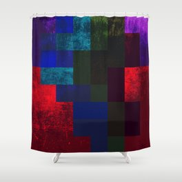 SLEEPING DEMON Shower Curtain