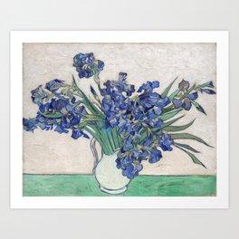 Van Gogh, Irises, 1888 Art Print