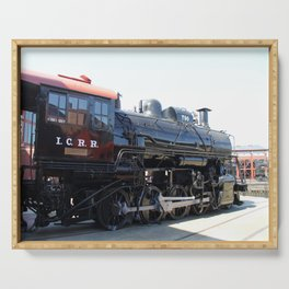 Illinois Central Locomotive No 790 Serving Tray