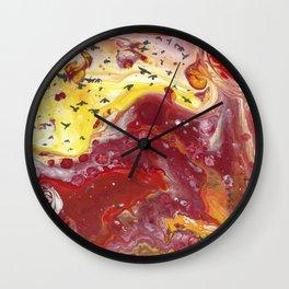 Fire Birds Wall Clock