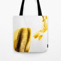 sound Tote Bags featuring Sound by Fine2art
