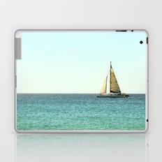 Sail Away with Me - Ocean, Sea, Blue Sky and Summer Sun Laptop & iPad Skin