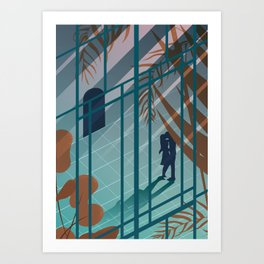 Love in the afternoon Art Print