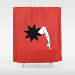 French Cancan - Paris Shower Curtain