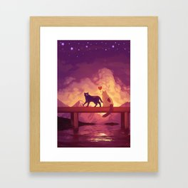 Forever Alone Together Framed Art Print