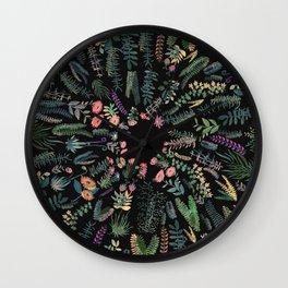 Drak circular garden Wall Clock