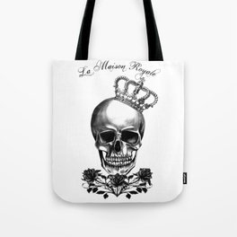 The Skull Queen of Roses Tote Bag