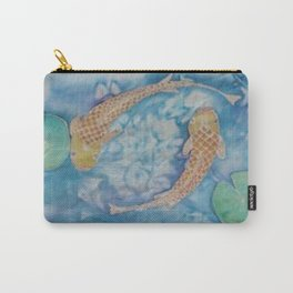 Koi Pond Batik Carry-All Pouch