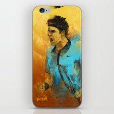 Roger Federer iPhone Skin