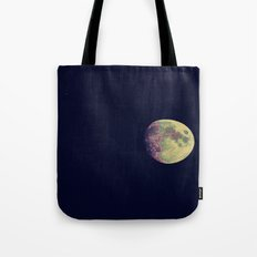 Two Stars and a Moon Tote Bag