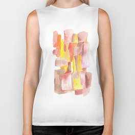 171013 Invaded Space 11|abstract shapes art design |abstract shapes art design colour Biker Tank