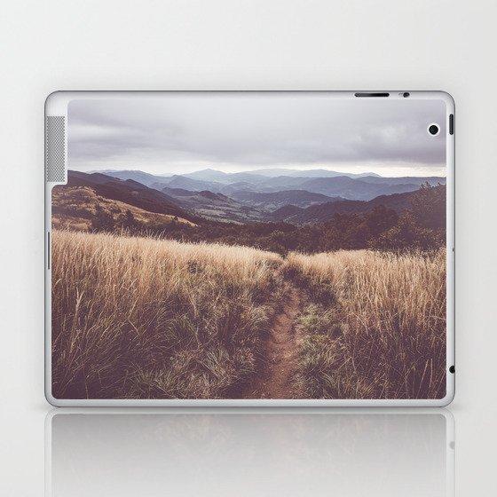 Bieszczady Mountains - Landscape and Nature Photography Laptop & iPad Skin