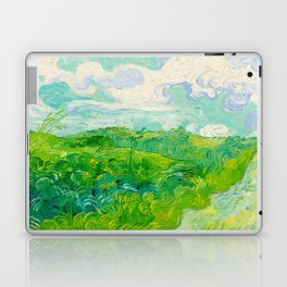 Field with Green Wheat 1890 Oil Painting By Vincent Van Gogh Laptop & iPad Skin