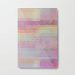 Abstract Geometrie No. 20 Metal Print