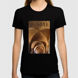 Roma, Italy's classic architecture T-shirt