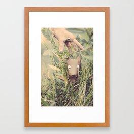 Iconic Dog Framed Art Print