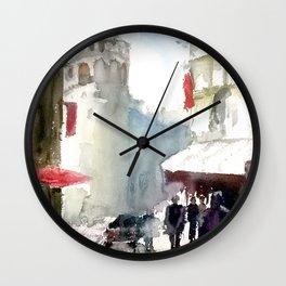 Galata Tower İstanbul Wall Clock
