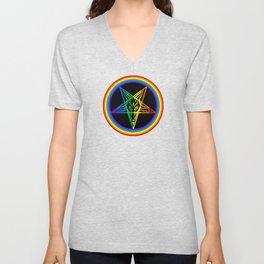 Gay for Satan Unisex V-Neck