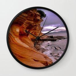 Painted Cliffs Wall Clock