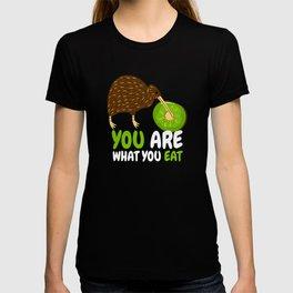 You Are What You Eat Kiwi Bird Fruit T-shirt