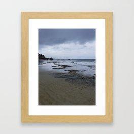 Stormy Daze Framed Art Print