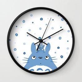 My Neighbour - Blue Wall Clock