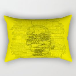 Words of Reggae Rectangular Pillow
