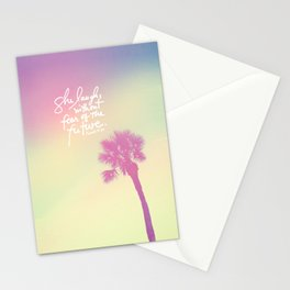 The Laughs without Fear of the Future Stationery Cards