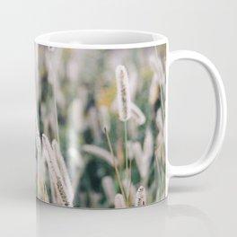 Whimsical Tall Grass Nature Field Landscape Photo Coffee Mug