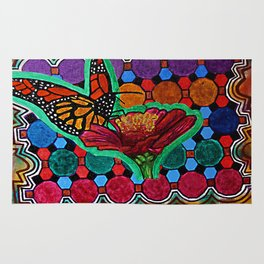 Cindy's Butterfly Rug