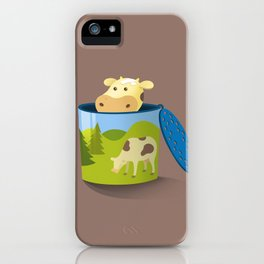 The moo box iPhone Case