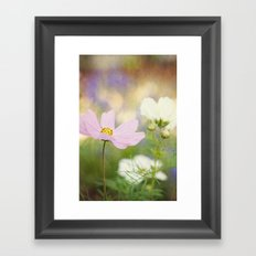 The Cosmos Dance Framed Art Print