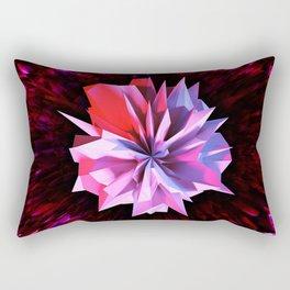 Crystaline Bloom Rectangular Pillow