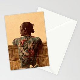 Tattooed Samurai Stationery Cards