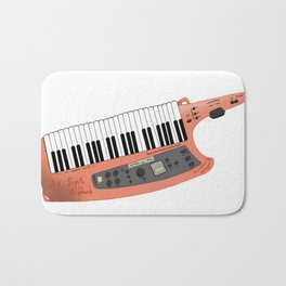How Cool Can A Keytar Get? Bath Mat