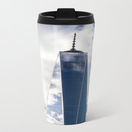 Freedom Tower Metal Travel Mug