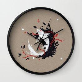 KOI RIBBON Wall Clock