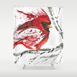 Cardinal Direction Shower Curtain