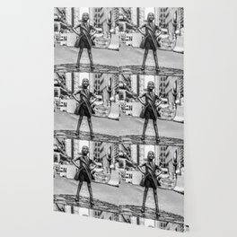 Fearless Girl NYC Wallpaper