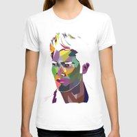 derek hale T-shirts featuring Derek Hale Mosaic Portrait by Liz Swezey