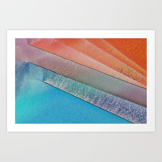 Morning Colors Art Print