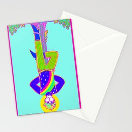 Hanged Man - Snazzy Stationery Cards