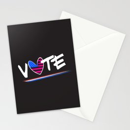 Vote, United States of America Stationery Cards