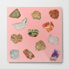 Rock collection Metal Print