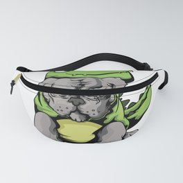 Relax It's A Pitbull not a T-Rex Funny Costume Fanny Pack