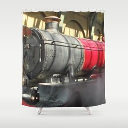 All abroad the Hogwarts Express Shower Curtain