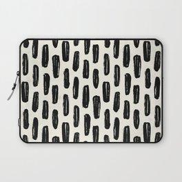 Ivory Vertical Dash Laptop Sleeve