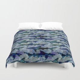 Deep Water Sharks Duvet Cover